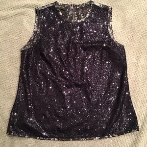 Jones New York Sequined Shell Size 12